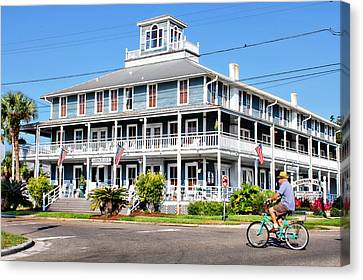 Gibson Inn Canvas Print by Lynn Jordan