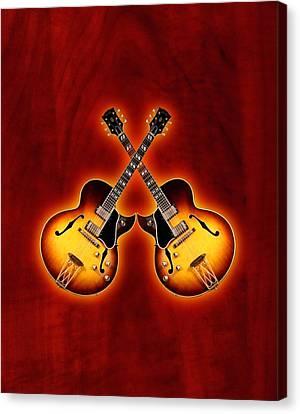 Gibson Jazz Canvas Print by Doron Mafdoos