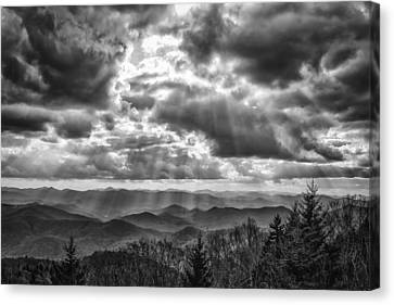Gift From Above Canvas Print by Brian Young