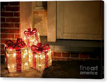 Gift Of Lights Canvas Print