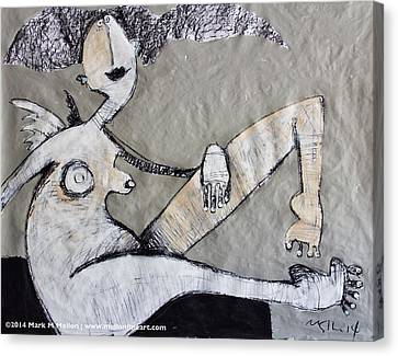 Gigantes No. 12 Canvas Print