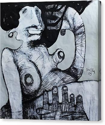 Primitive Nude Canvas Print - Gigantes No. 3 by Mark M  Mellon