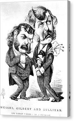 Gilbert & Sullivan Canvas Print by Granger