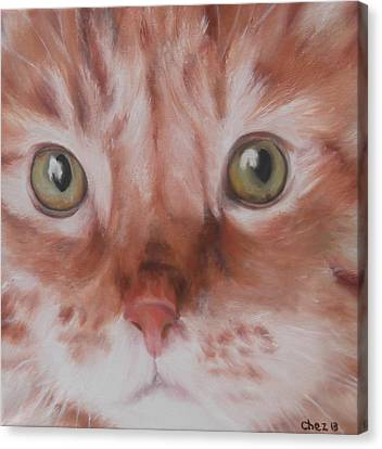 Ginger Canvas Print by Cherise Foster