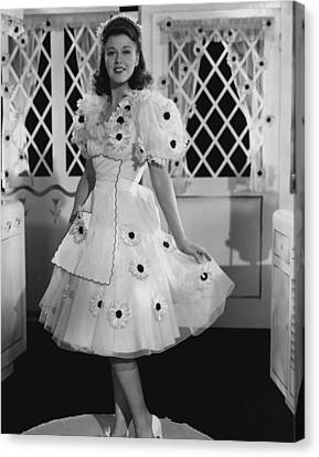 Ginger Rogers Canvas Print by Retro Images Archive