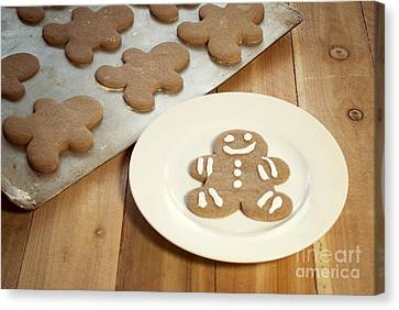 Gingerbread Cookies Canvas Print