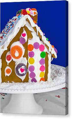 Canvas Print featuring the photograph Gingerbread House by Vizual Studio