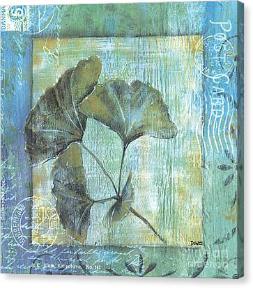 Gingko Spa 2 Canvas Print by Debbie DeWitt
