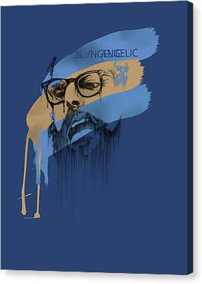 Ginsberg Canvas Print by Pop Culture Prophet
