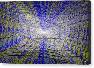 Gioco Coliori Canvas Print by Halina Nechyporuk