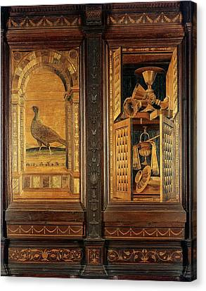 Giocondo Da Verona Giovanni Fra, Inlaid Canvas Print by Everett