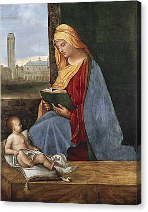 Giorgione, Pupil Of 15th-16th Century Canvas Print by Everett