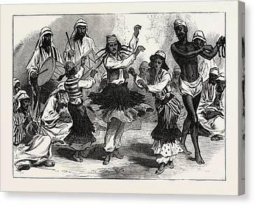 Gipsy-boy Dancers Canvas Print