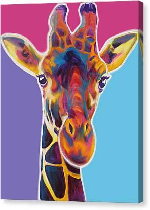 Giraffe - Marius Canvas Print