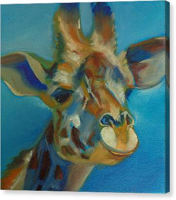 Giraffe Canvas Print by Kaytee Esser