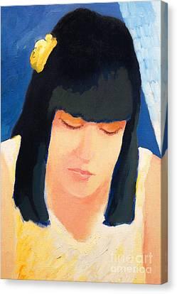 Habana Canvas Print - Girl From Havana by Lutz Baar