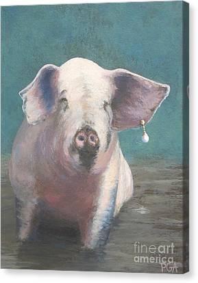 Girl With A Pearl Earring II Canvas Print