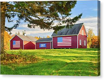 Give Me Liberty Canvas Print by Gregory W Leary