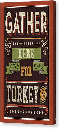 Give Thanks I Canvas Print by Pela Studio