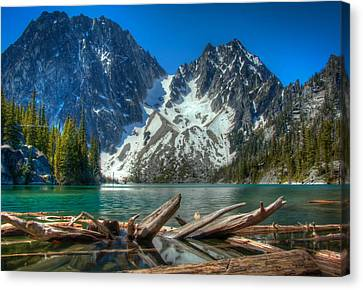 Glacier Bathtub Canvas Print