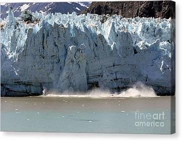 Glacier Bay Alaska Canvas Print by Sophie Vigneault
