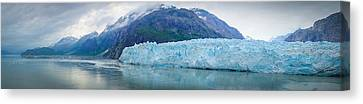 Canvas Print featuring the photograph Glacier Bay Panoramic by Janis Knight