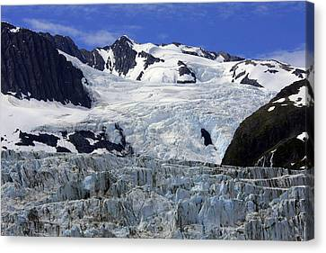 Glacier From Up High Canvas Print