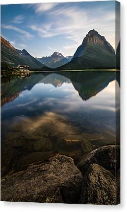 Glacier National Park 2 Canvas Print by Larry Marshall