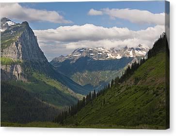 Glacier National Park Canvas Print by John Shaw
