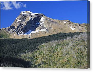 Canvas Print featuring the photograph Glacier National Pk Mt by Kathleen Scanlan