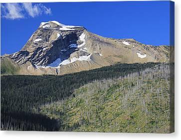 Glacier National Pk Mt Canvas Print by Kathleen Scanlan