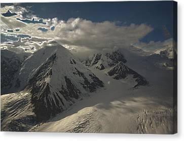 Glaciers Galore Canvas Print by David Kehrli