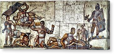 Gladiators Canvas Print by Granger