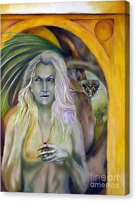 Glain Nadredd Canvas Print