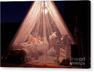 Glamping Canvas Print
