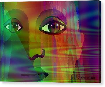 Glance - 088 Canvas Print