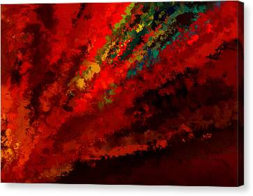 Bold Colors Canvas Print - Glance Of Colors by Lourry Legarde