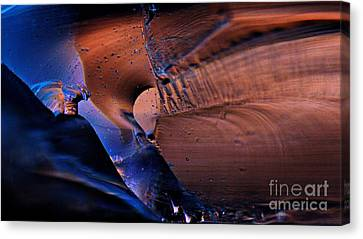 Glass 2 Canvas Print by Denis  Los