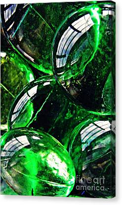 Glass Abstract 48 Canvas Print by Sarah Loft