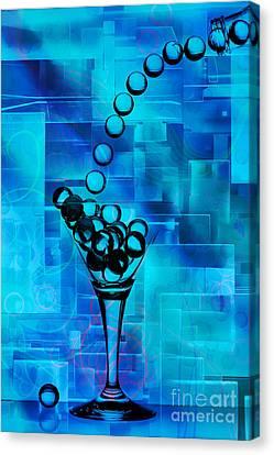 Glass Balls Canvas Print by Mauro Celotti