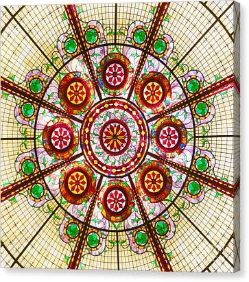 Canvas Print featuring the photograph Glass Dome by Val Miller
