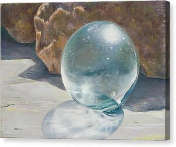 Glass Float Canvas Print