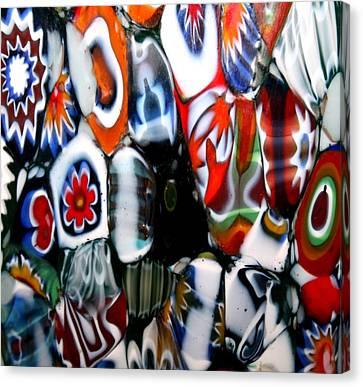 Glass Flowers 3 Canvas Print