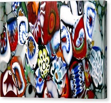 Glass Flowers 4 Canvas Print