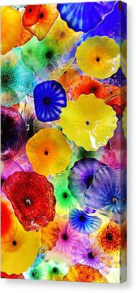 Glass Garden 3 Of 3 Canvas Print by Benjamin Yeager