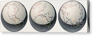 Glass Globes Canvas Print by Panoramic Images