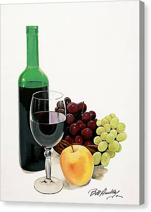 Glass Half Full Canvas Print by Bill Dunkley