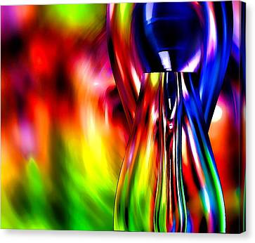 Glass In Motion Canvas Print