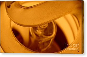 Glass Light Canvas Print by Justin Moore