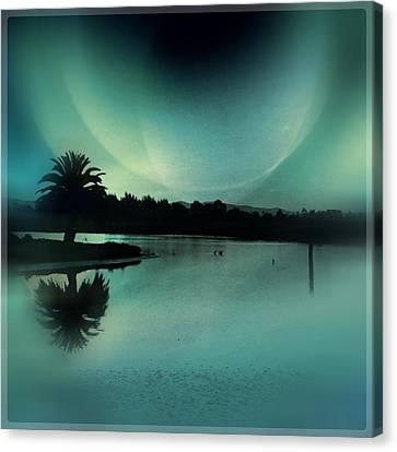 Glass Moon Canvas Print